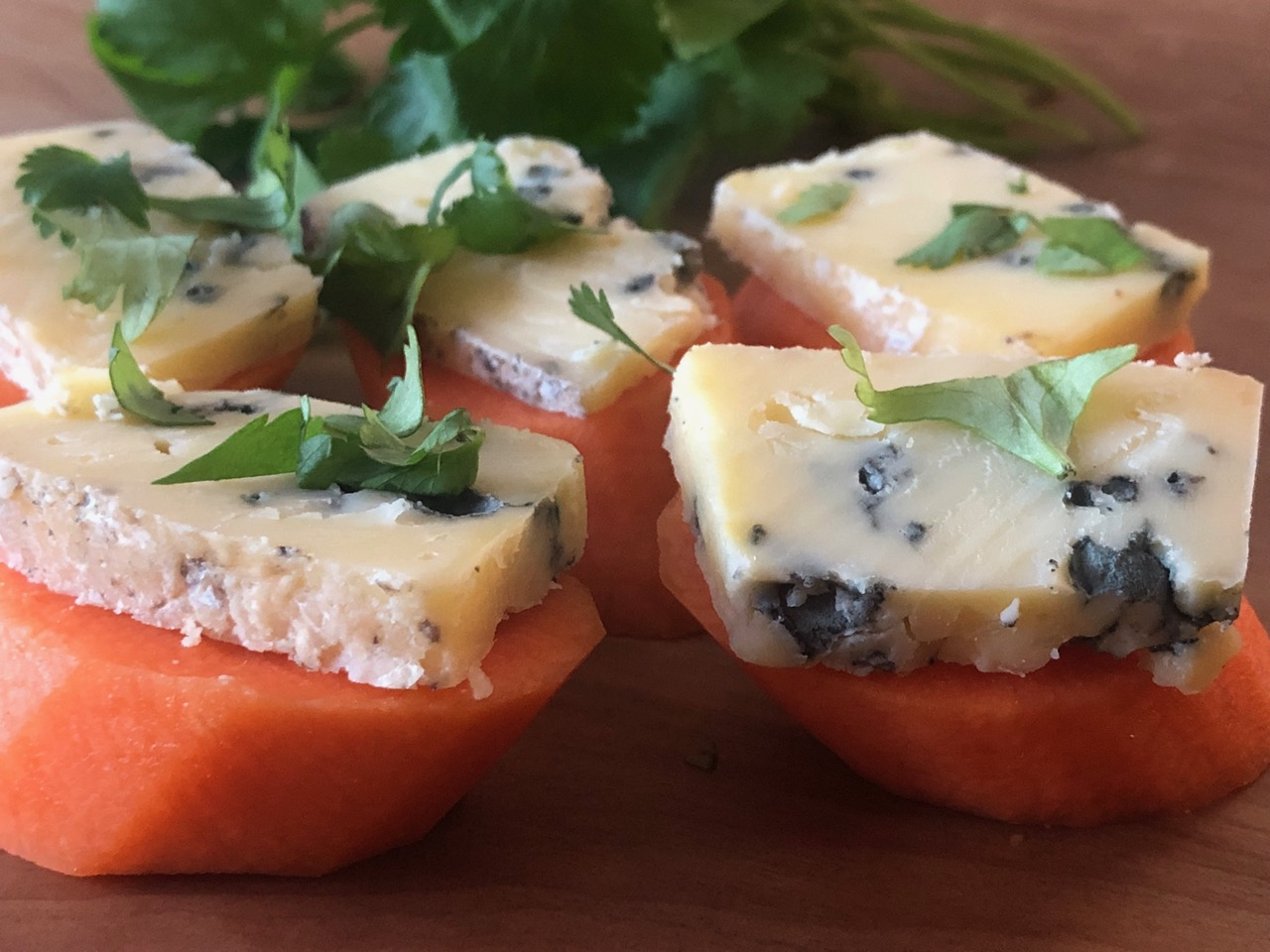 carrot blue cheese