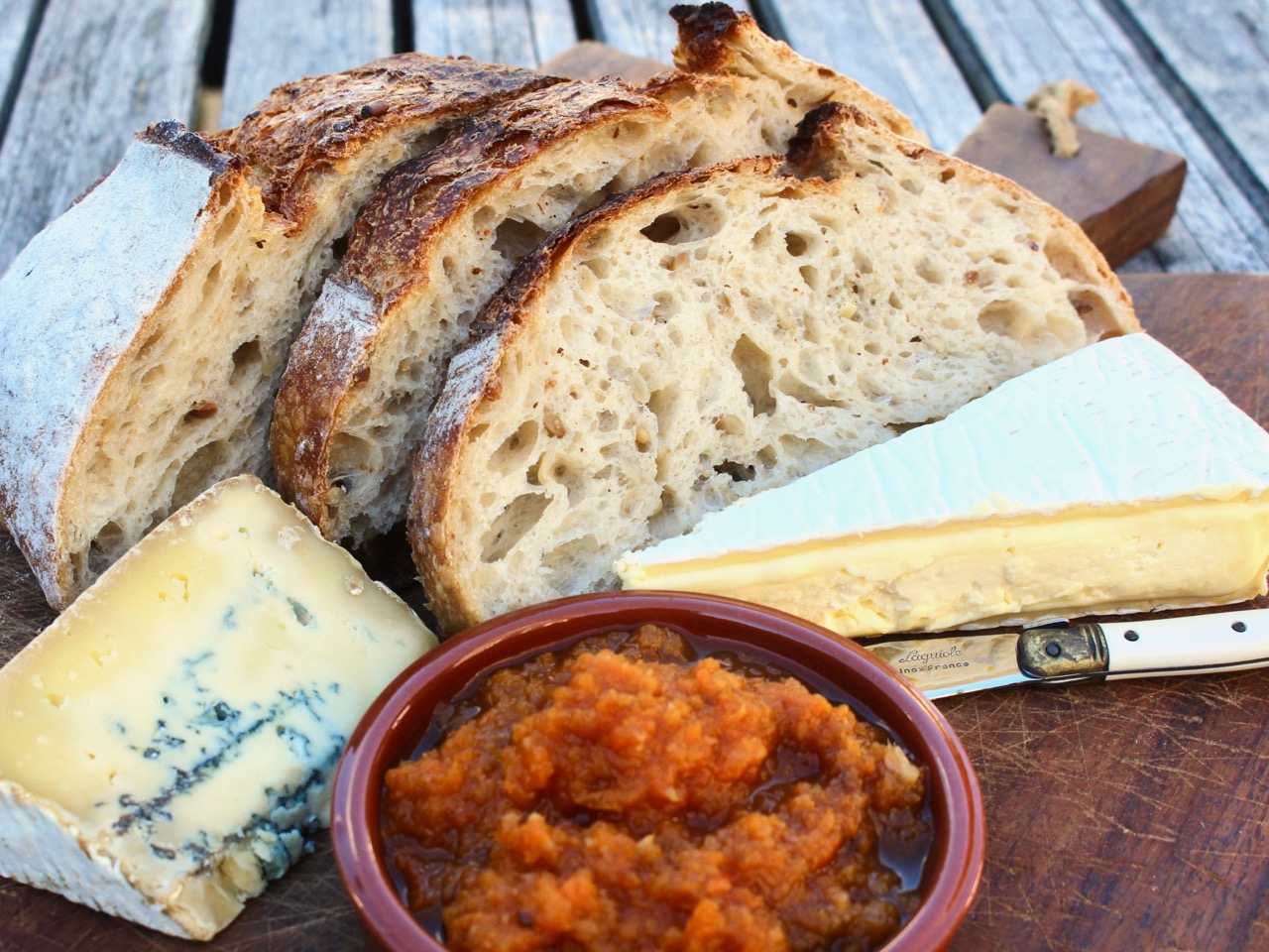 cheese and chutney