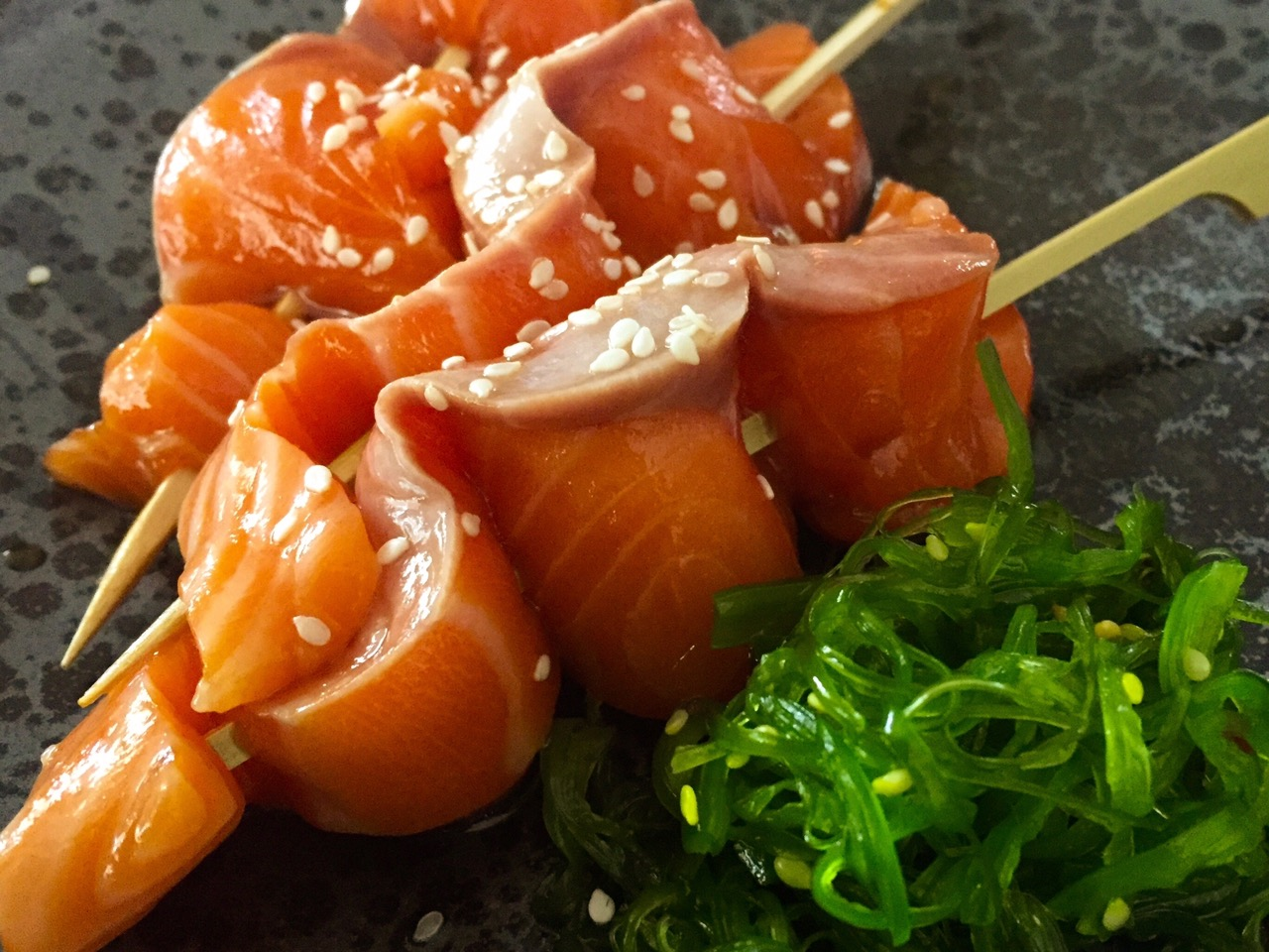 festive salmon idea
