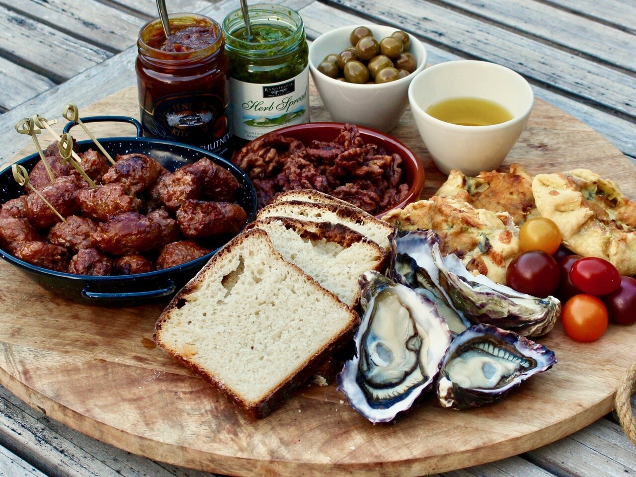 Waiheke local food platter
