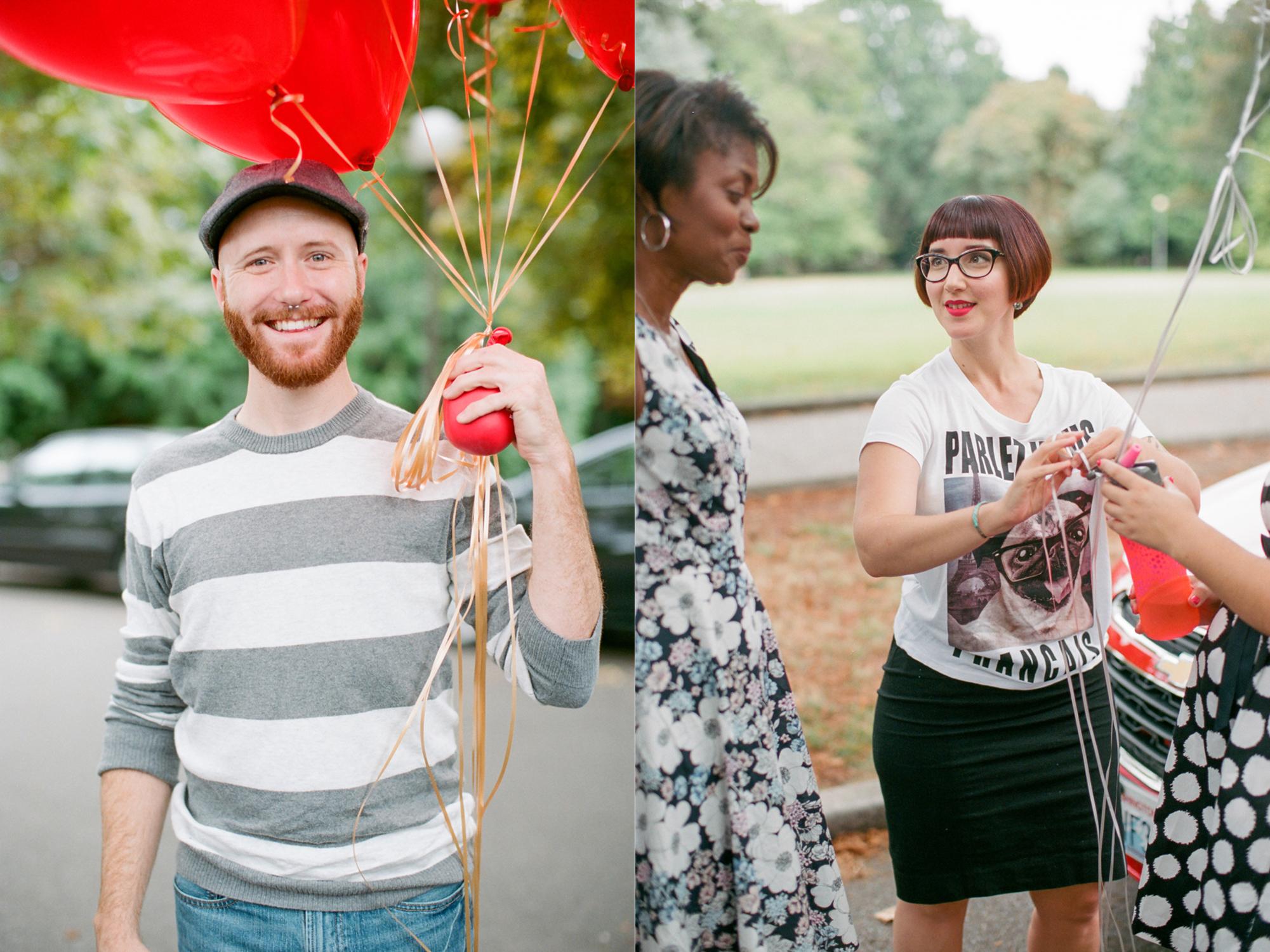 Volunteer Park Conservatory elopement wedding in Seattle