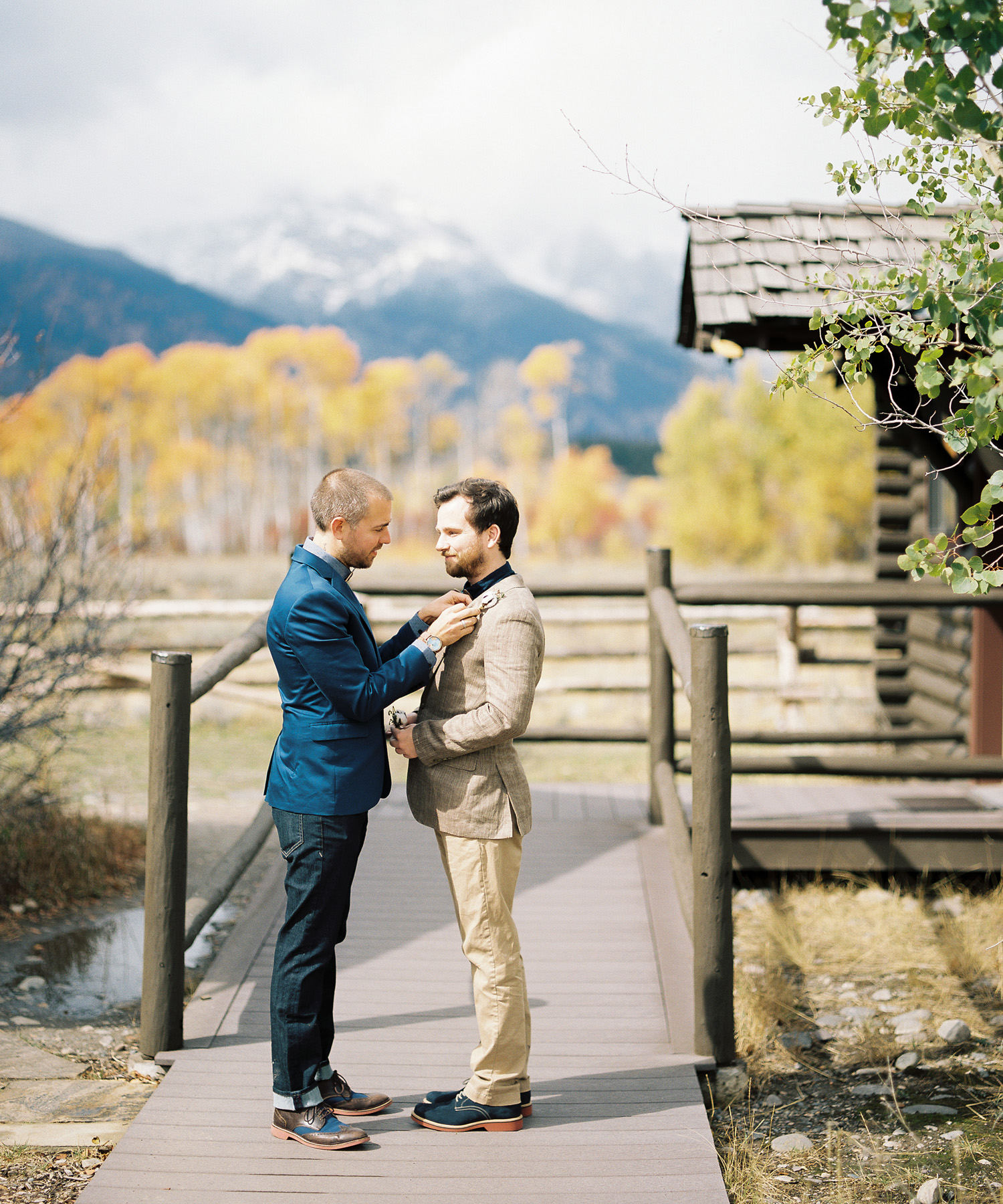 Jackson Hole Same Sex Wedding