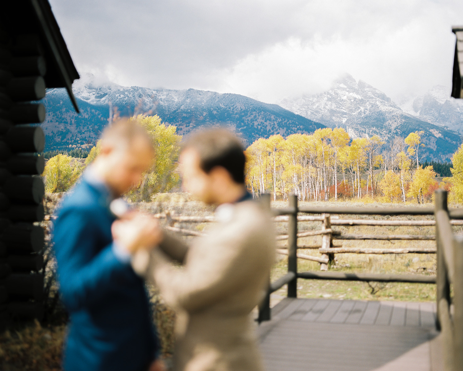Grand Tetons Same Sex Wedding