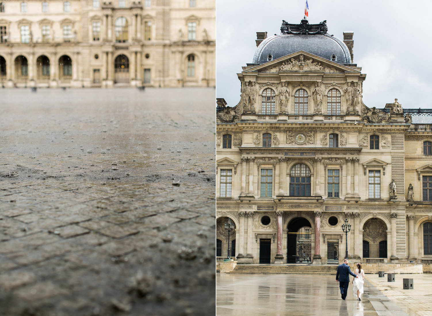 paris louvre wedding in the rain.jpg