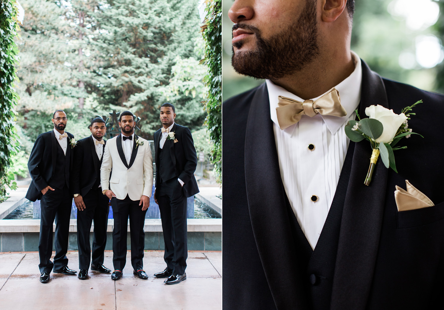 black tie groom and groomsmen wedding attire seattle.jpg
