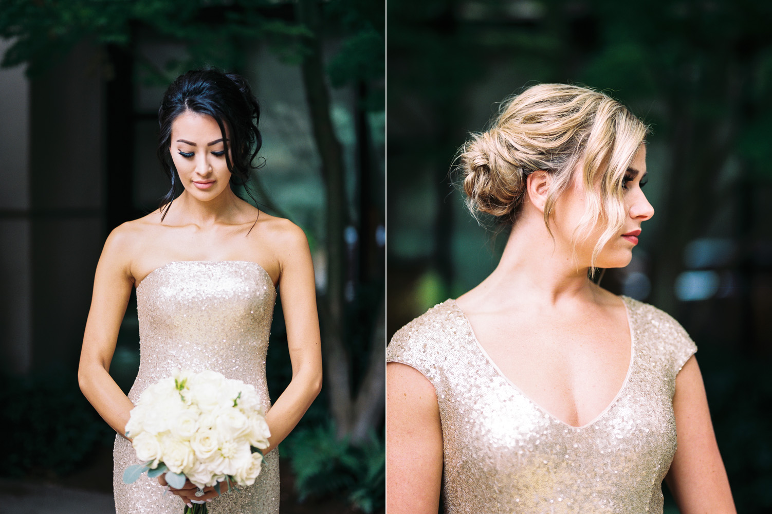 gold bridesmaid dresses seattle wedding details.jpg