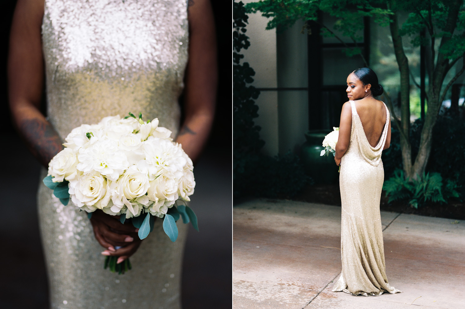 The Bellevue Club Wedding Photography Vow to Be Chic Bridesmaid Dress