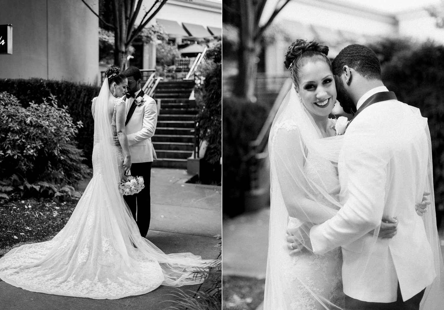 elegant bride and groom wedding portrait seattle.jpg