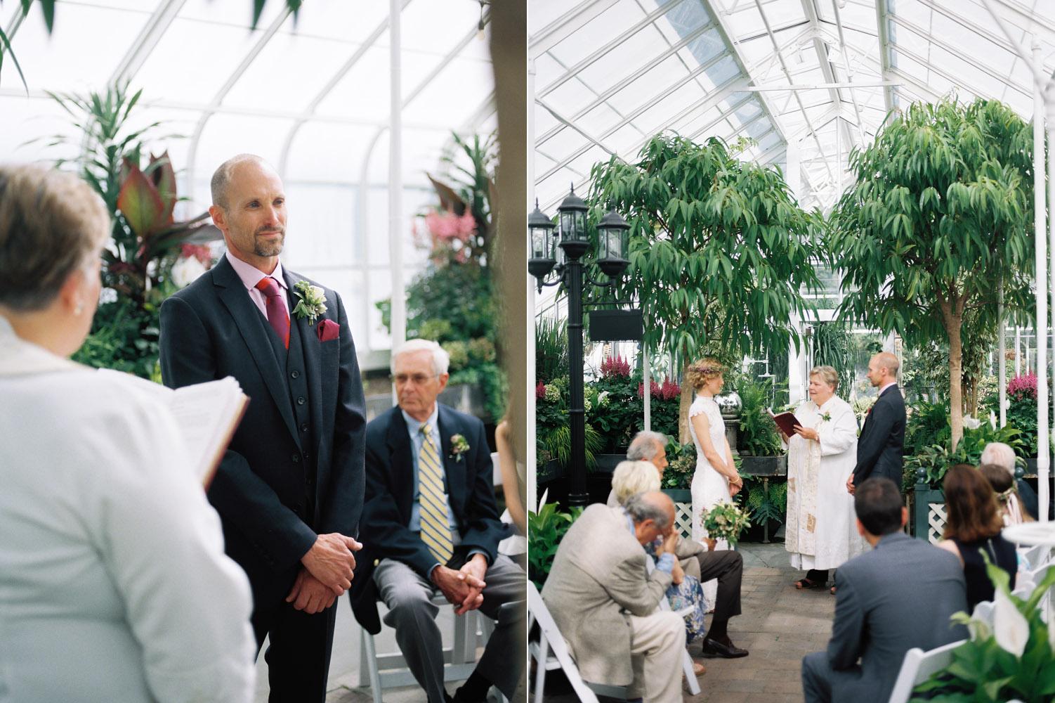 seattle volunteer park conservatory wedding photographer.jpg
