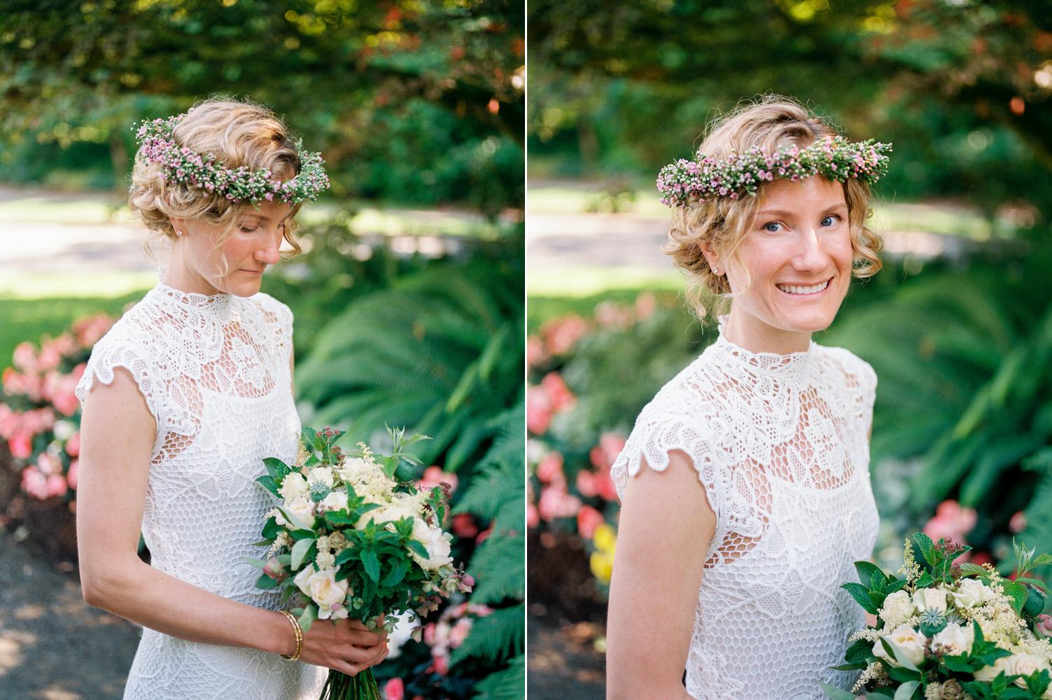 seattle boho bride flower crown conservatory wedding.jpg