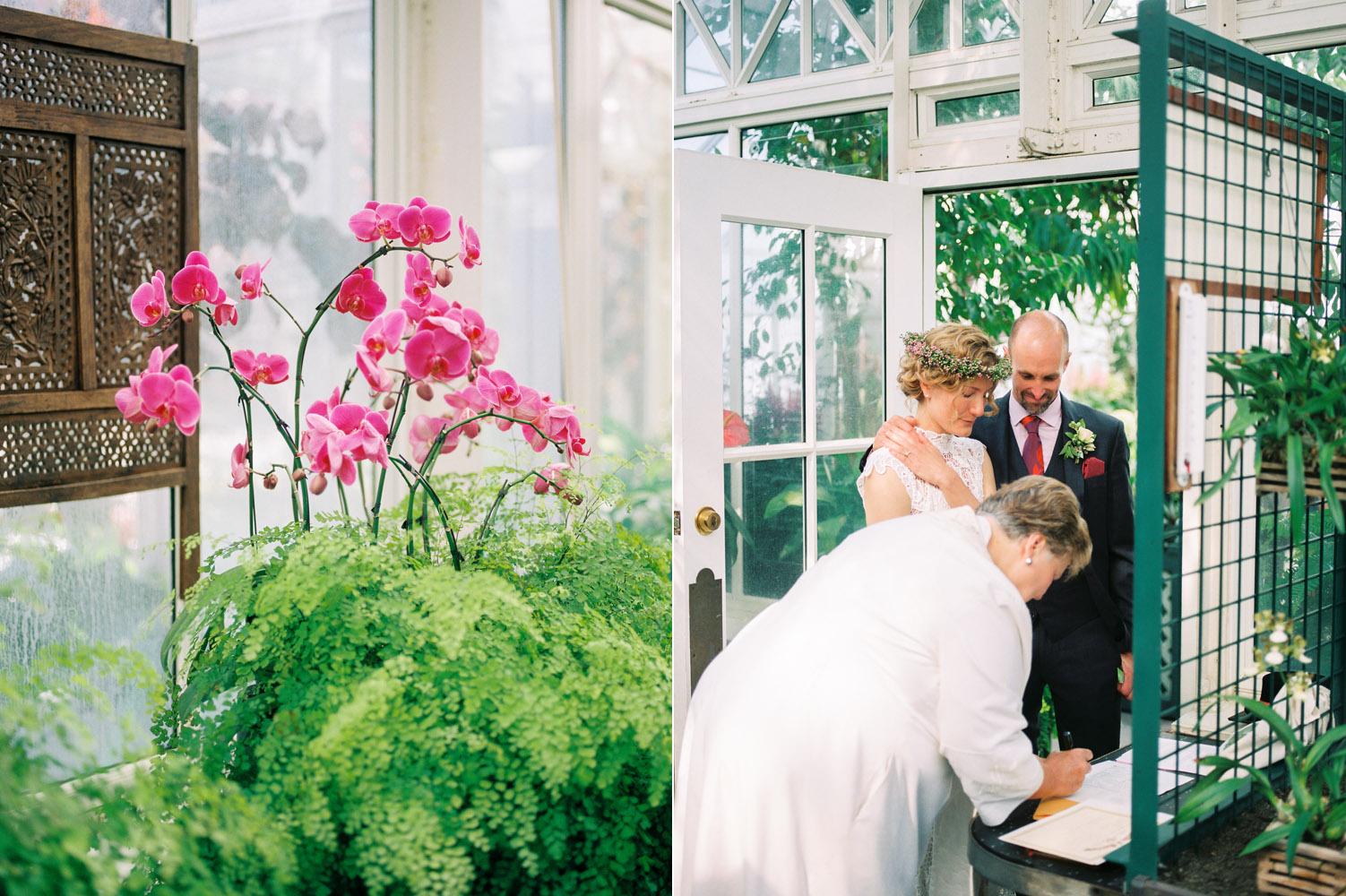 seattle conservatory wedding kodak portra 800.jpg