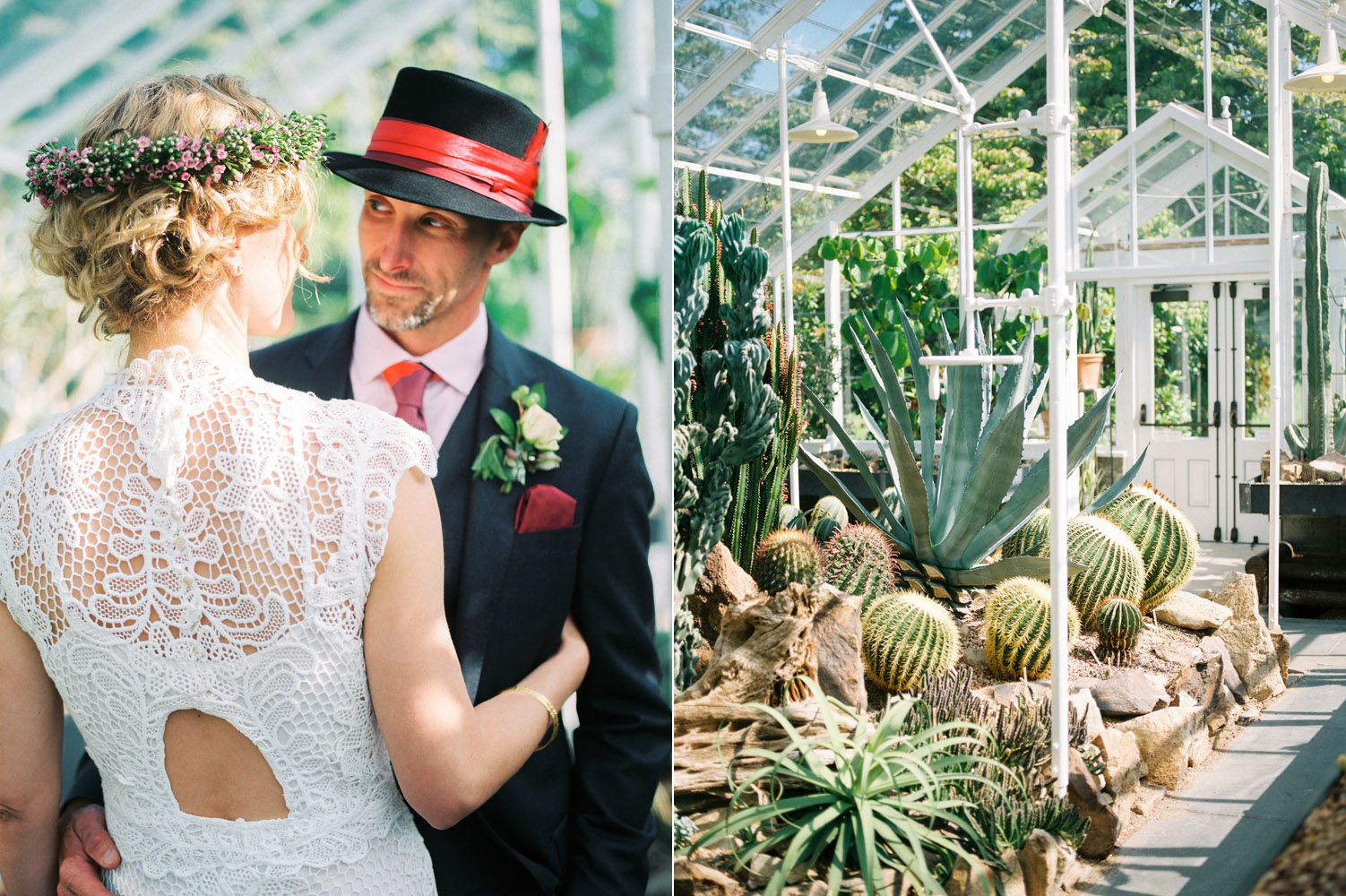 volunteer park conservatory intimate wedding elopement couple.jpg