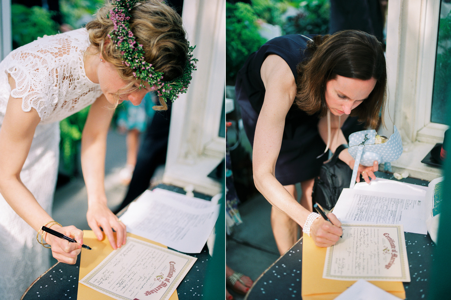 volunteer park conservatory wedding ceremony certificate.jpg
