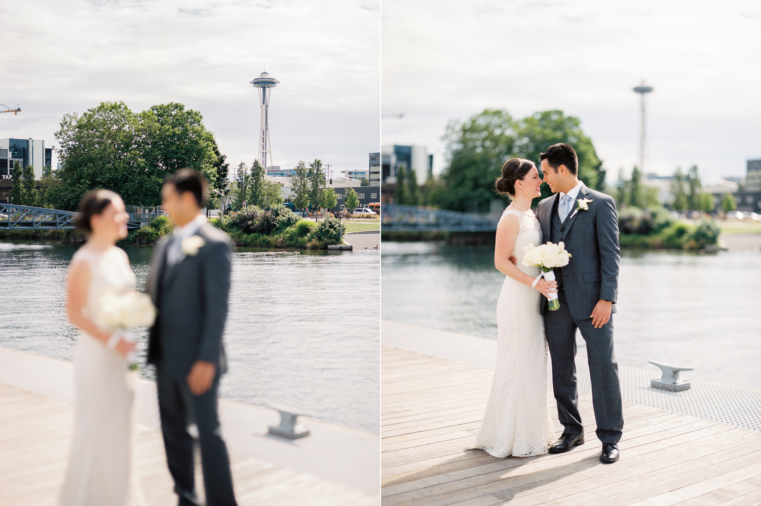 Seattle Museum of History and Industry Wedding Photography