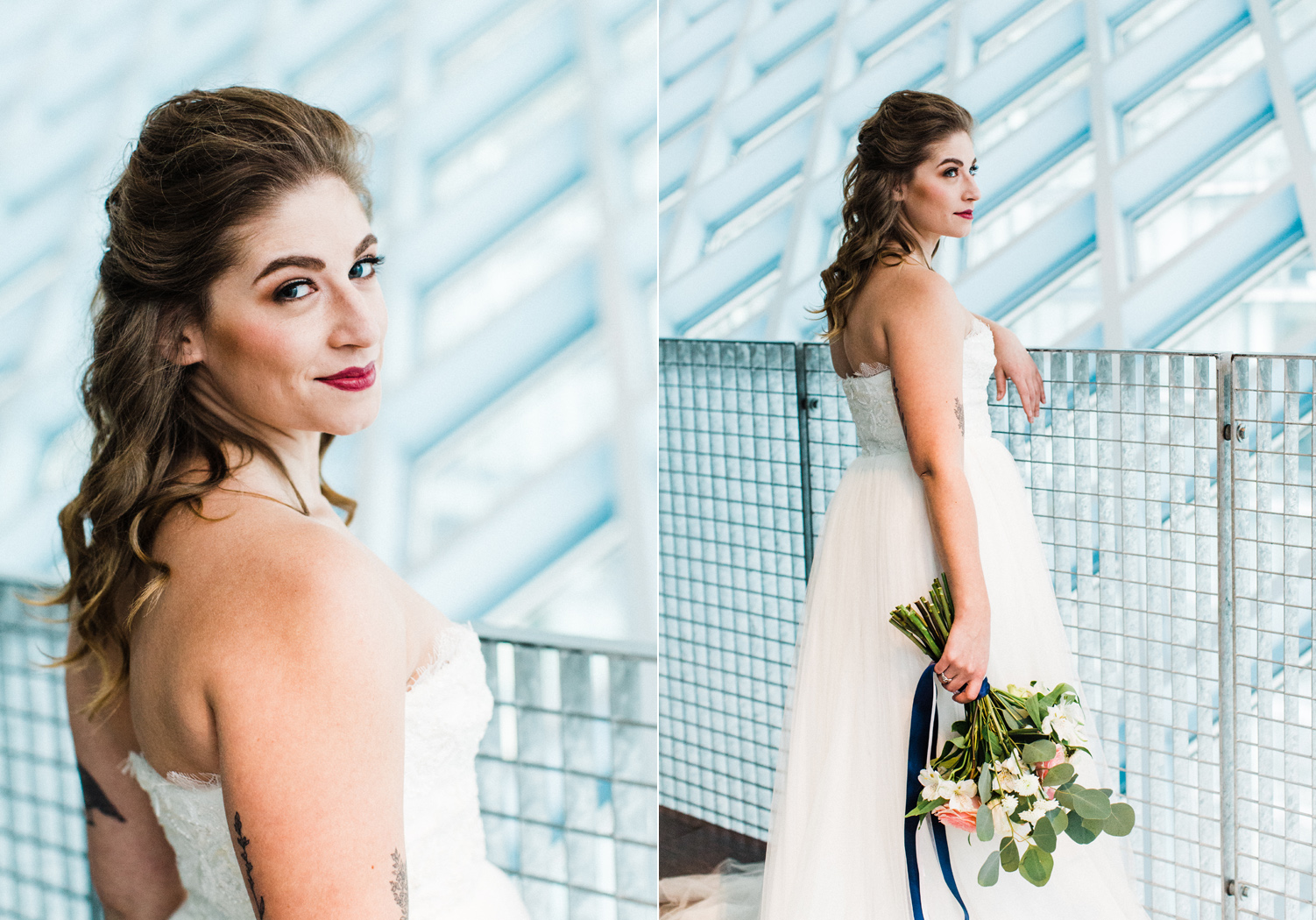seattle public library bridal portrait photography 3.jpg