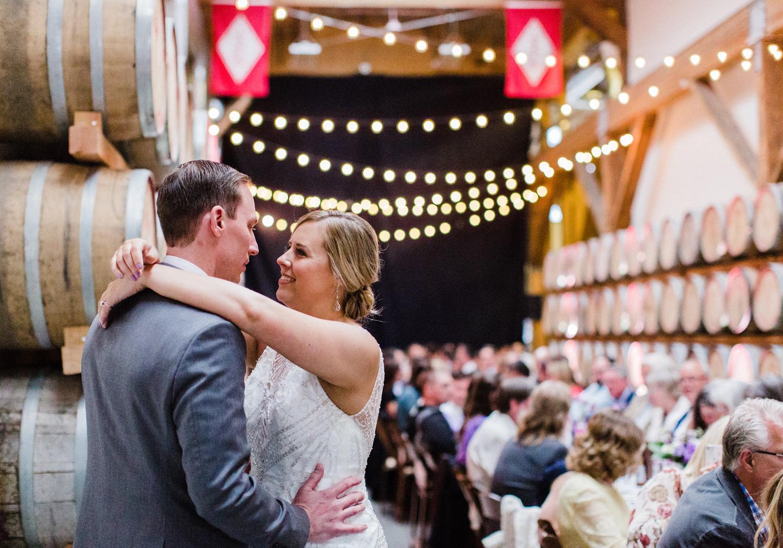 Westland Distillery Wedding Barrel Room.jpg