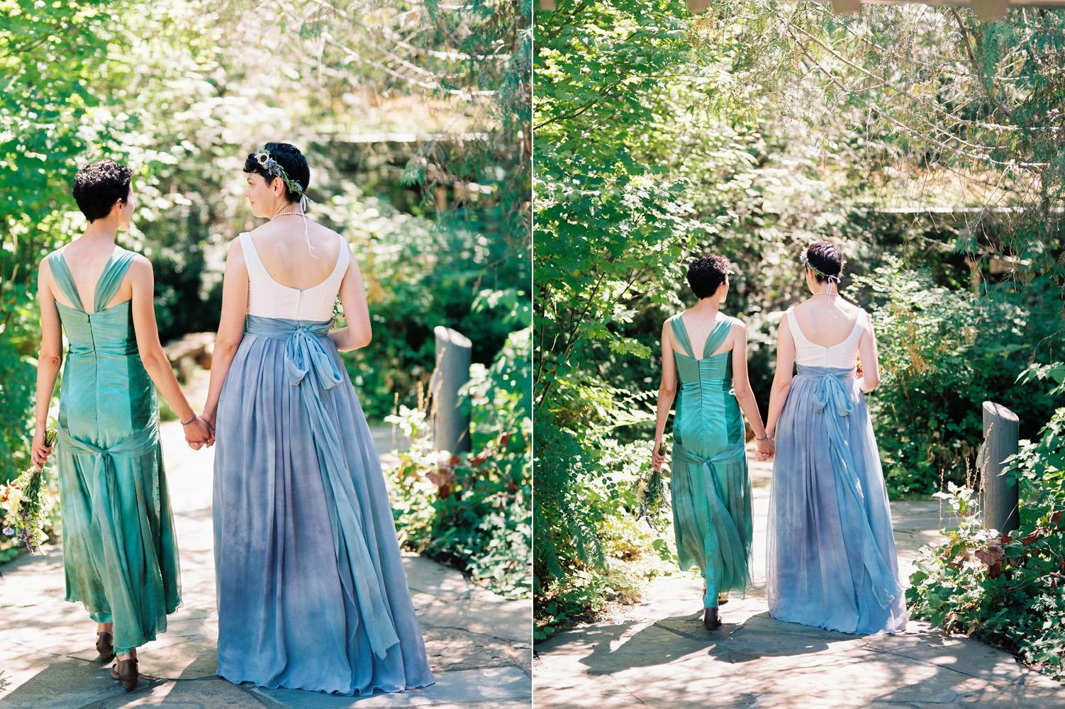 Pacific Northwest Same Sex Wedding near Rattlesnake Lake
