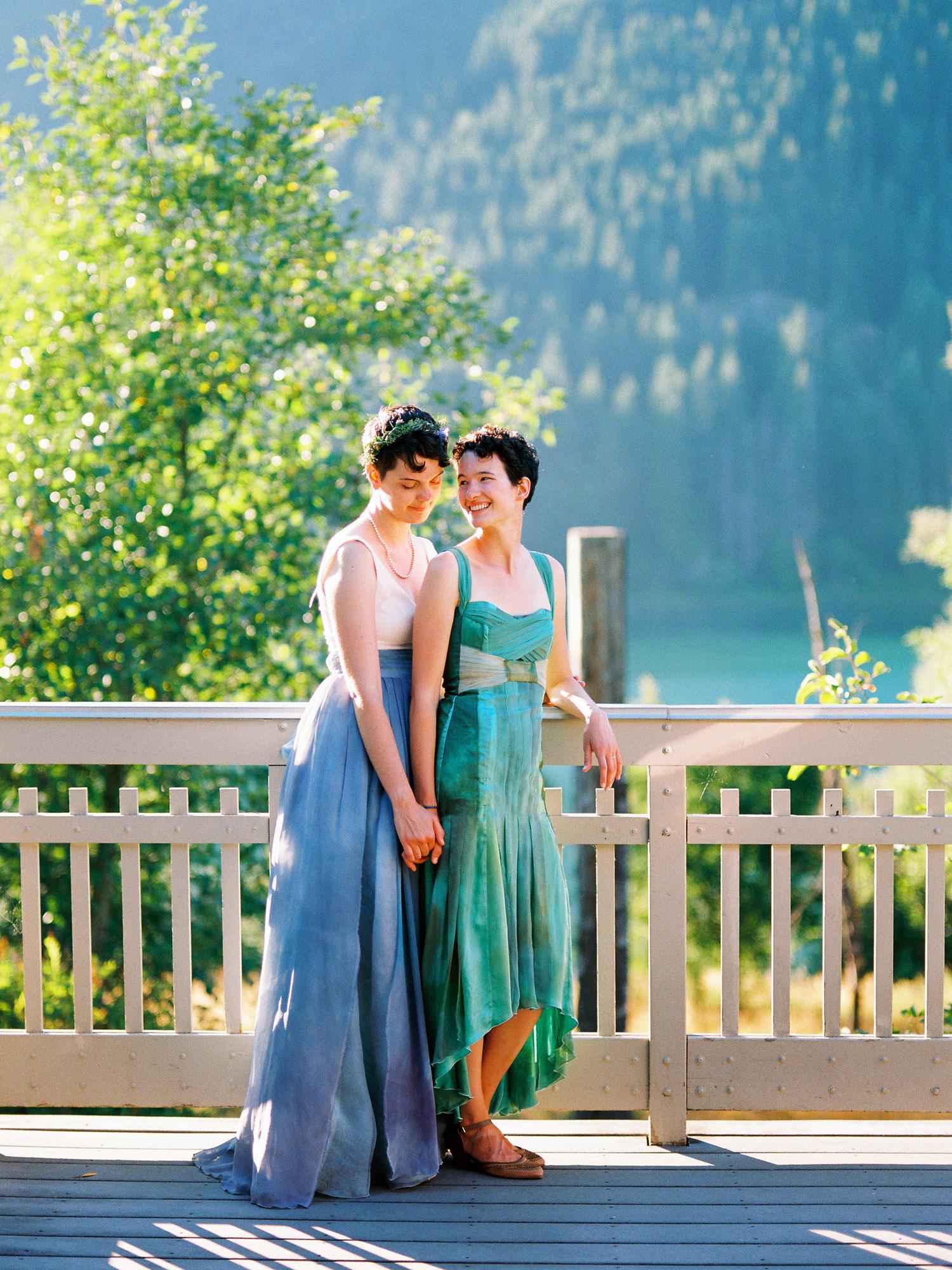 Rattlesnake Lake Sunset Bridal Portraits Northwest Wedding Photography.jpg