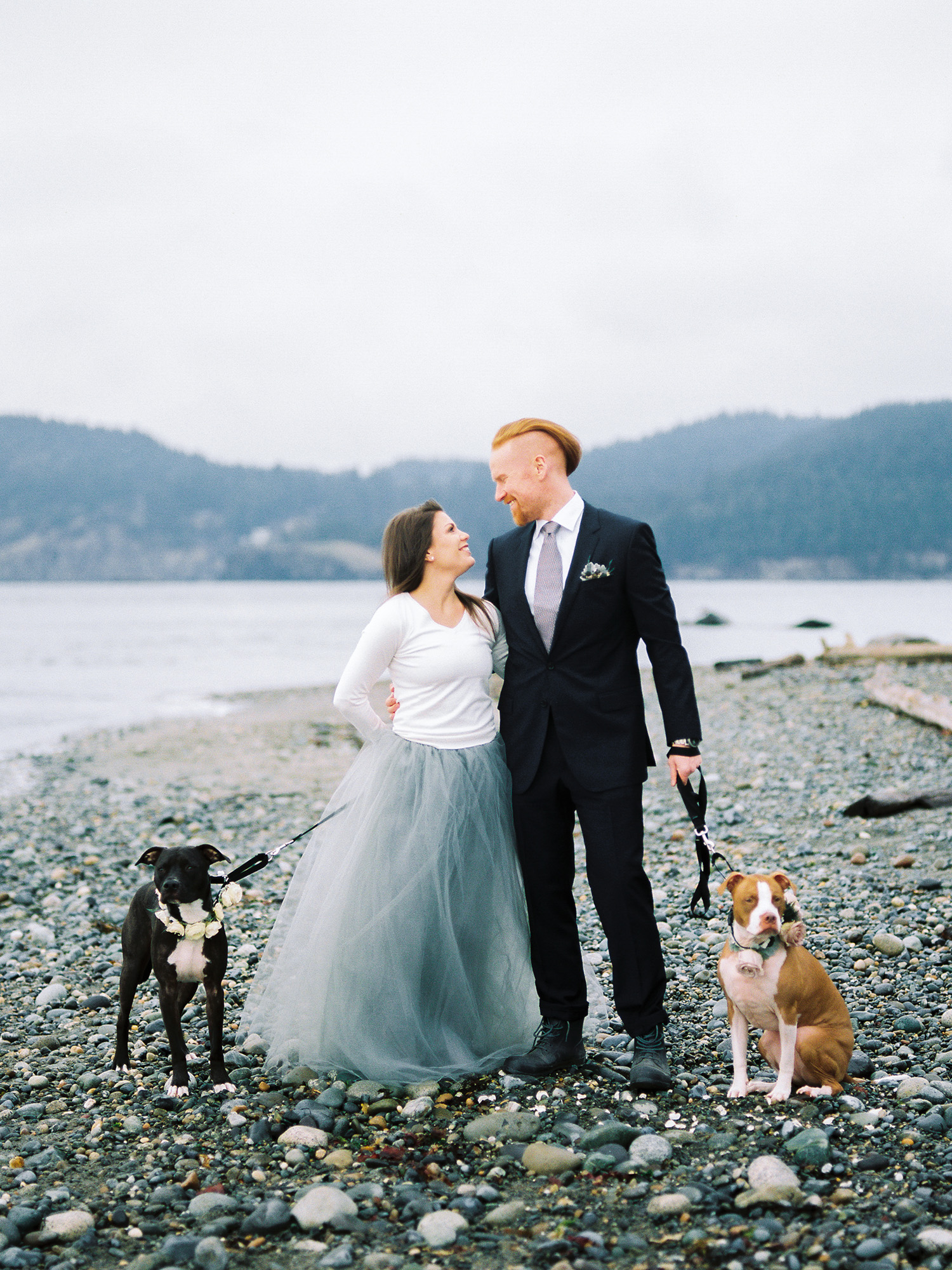 Seattle Area Beach Engagement Session with Dogs.jpg