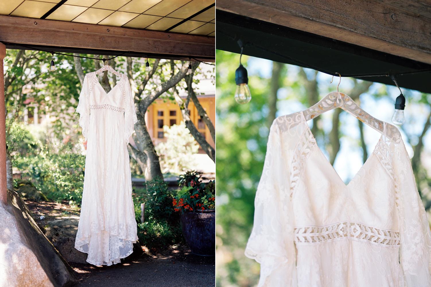 Seattle The Dress Theory Wedding and Rue de Seine Wedding Dress