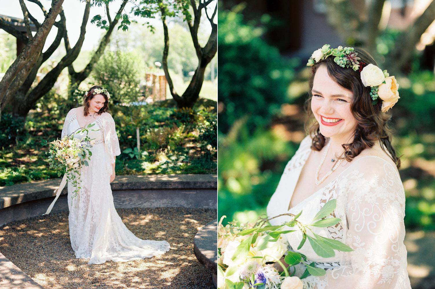 Rue de Seine Wedding Dress at a University of Washington Seattle wedding
