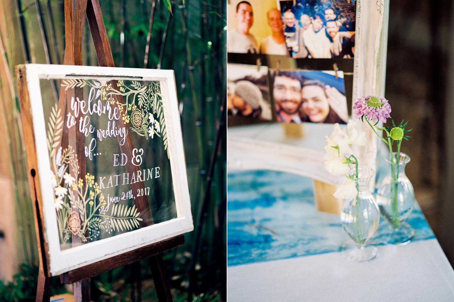 seattle wedding window frame sign .jpg