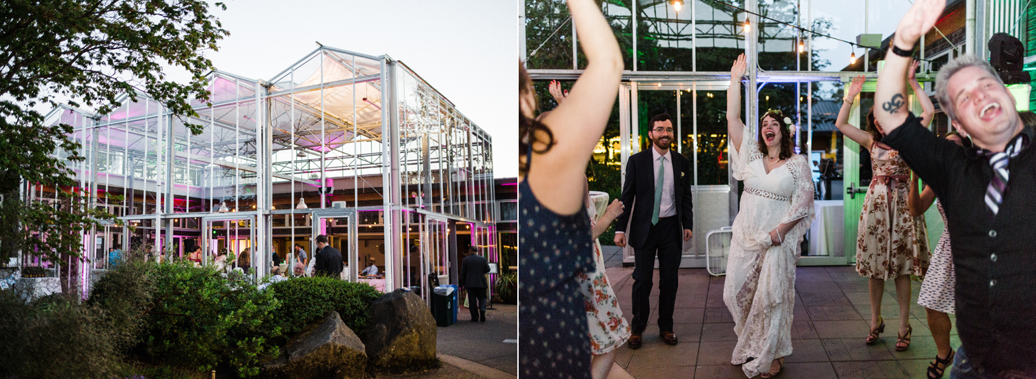 university of washington center for urban horticulture greenhouse wedding reception.jpg