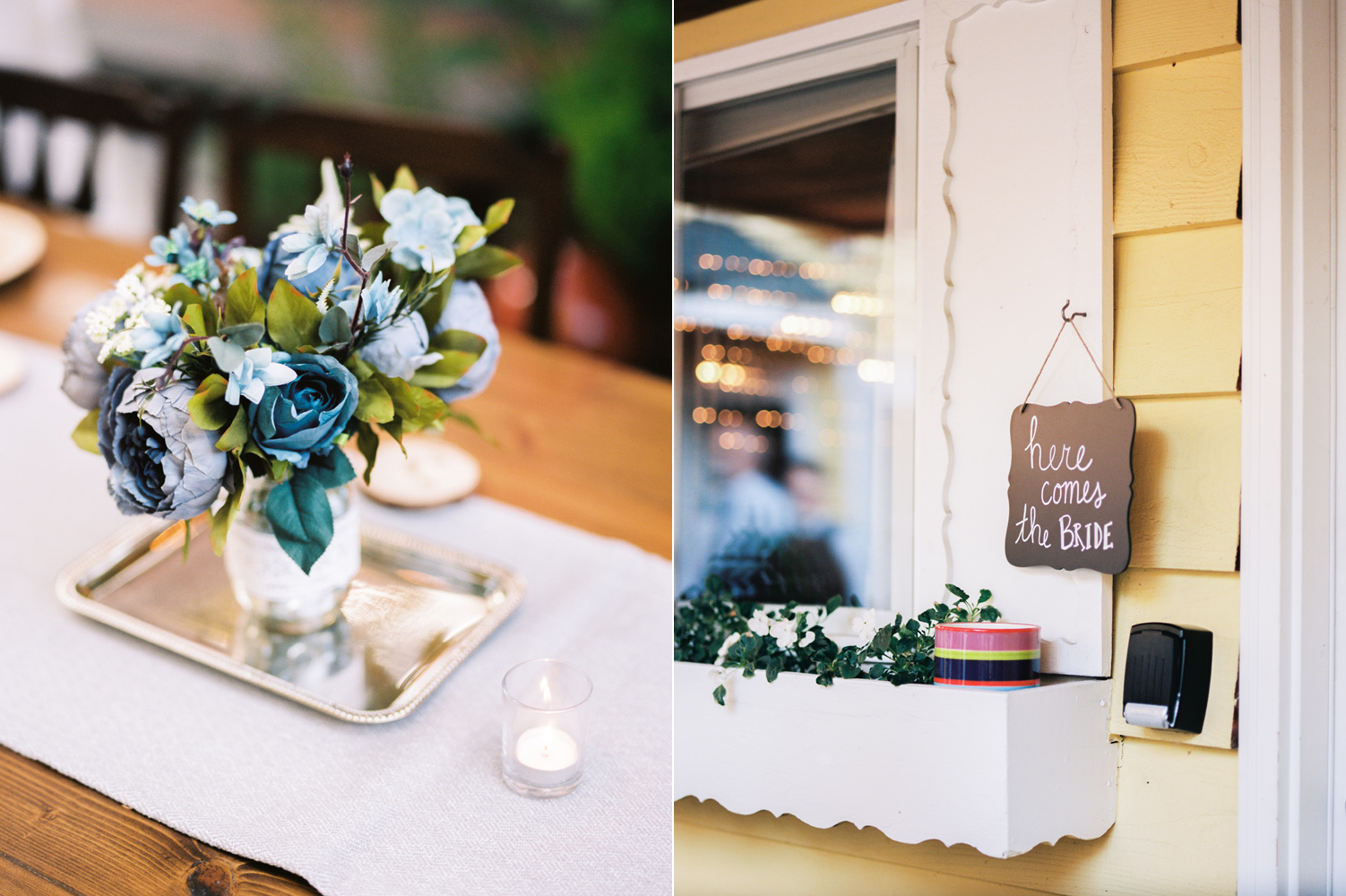 Intimate Backyard Ballard Wedding Details Photography