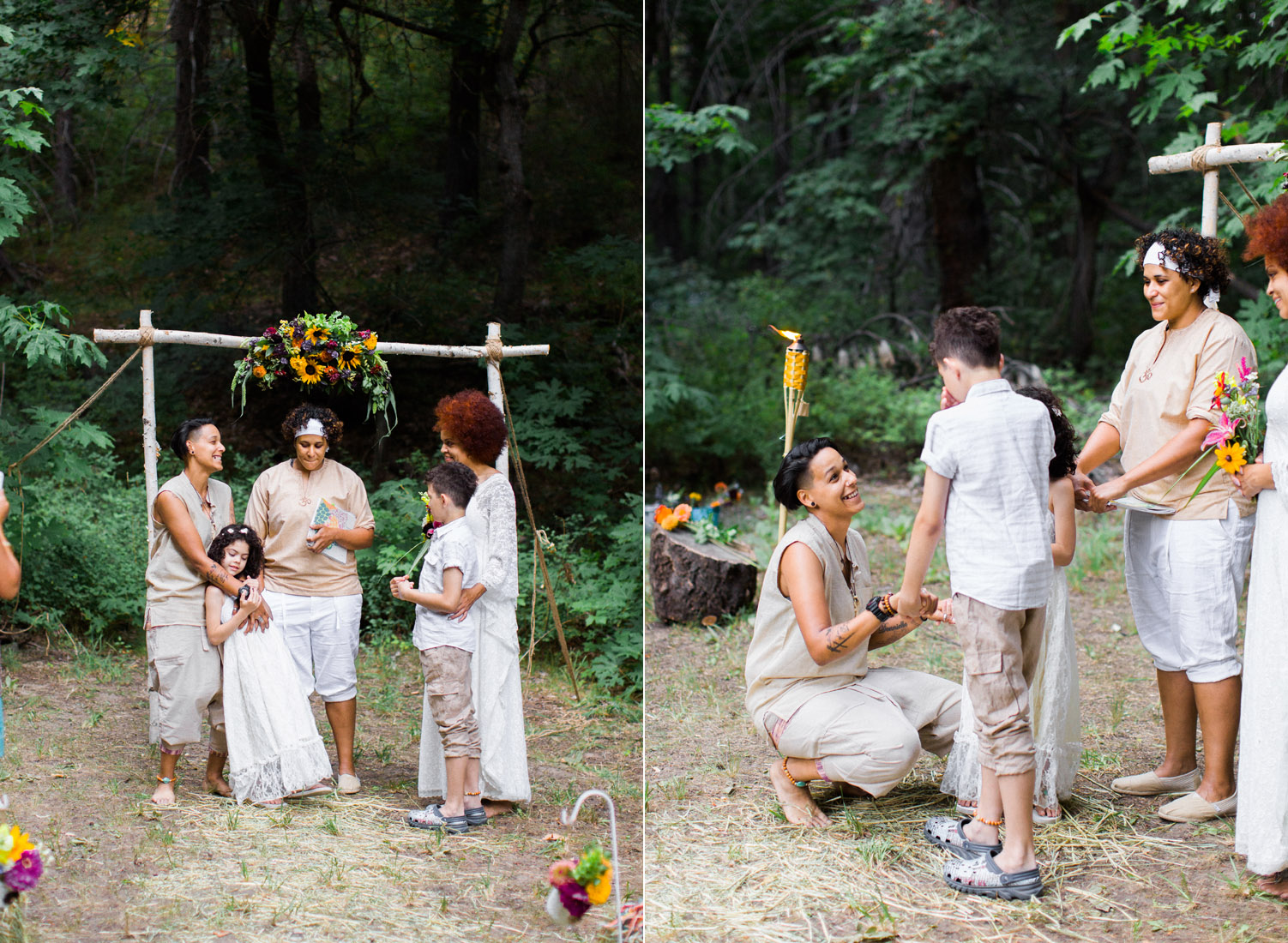 diy camground same sex blended family wedding photography.jpg