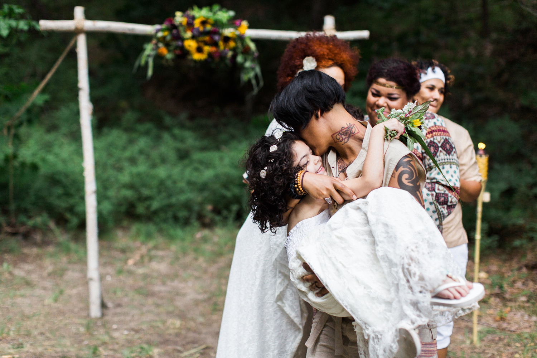 leavenworth washington intimate same sex blended family wedding photography.jpg
