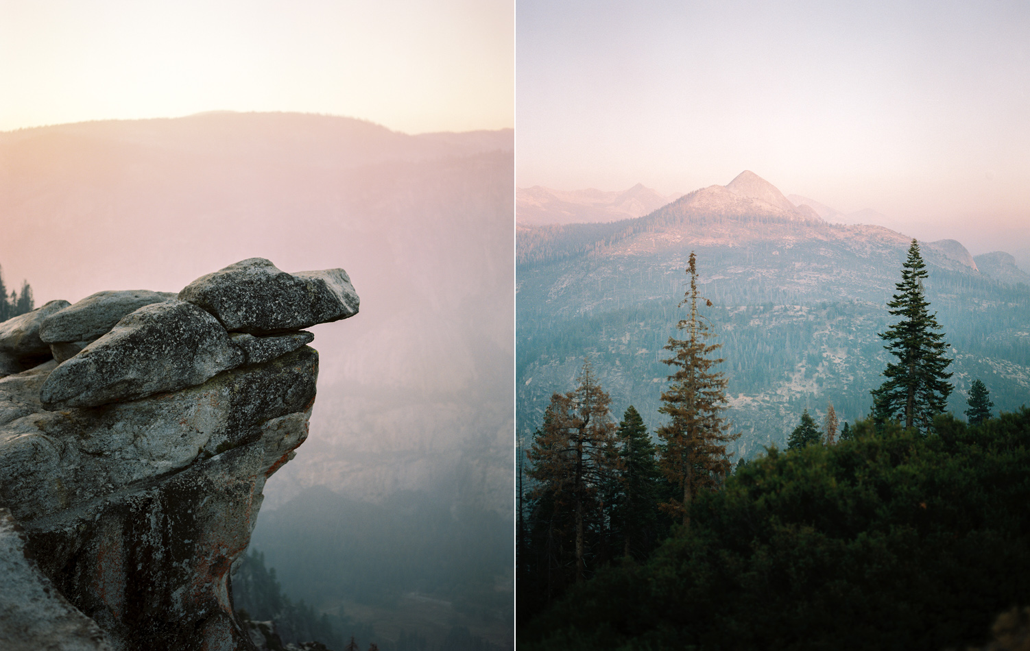 yosemite national park sunset from glacier point film photography.jpg