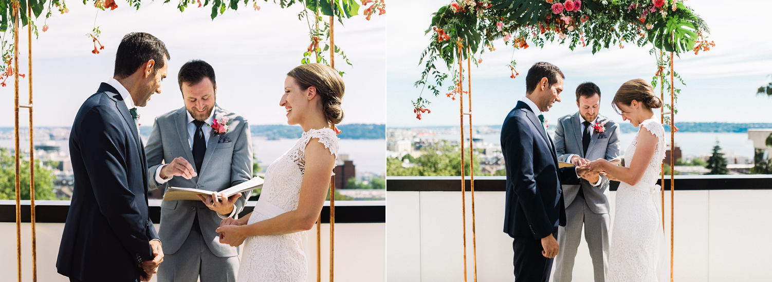 Seattle Queen Anne Intimate Rooftop Wedding Photographer.jpg