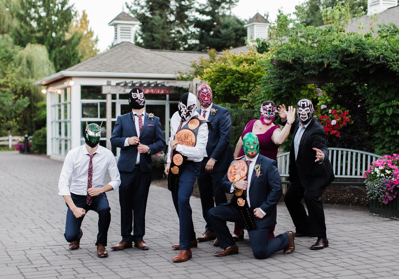 Seattle Wedding Portraits WWE Wrestling Bridal Party Inspiration.jpg