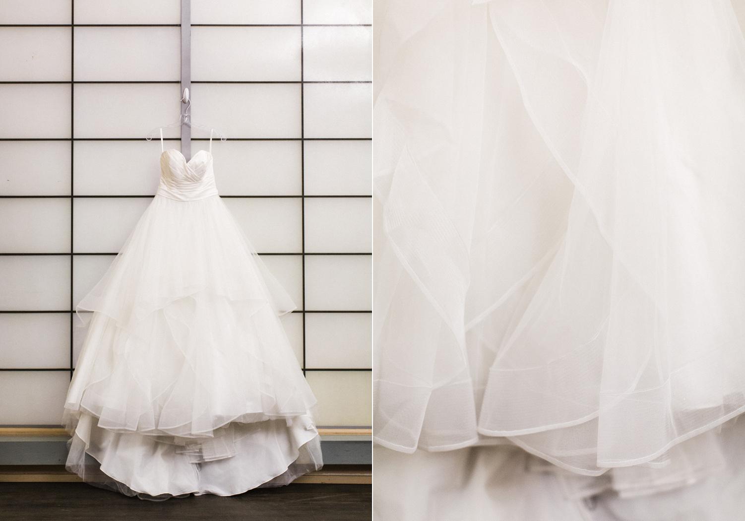 Seattle Wedding Photography Ballgown Wedding Dress at the Pickering Barn.jpg