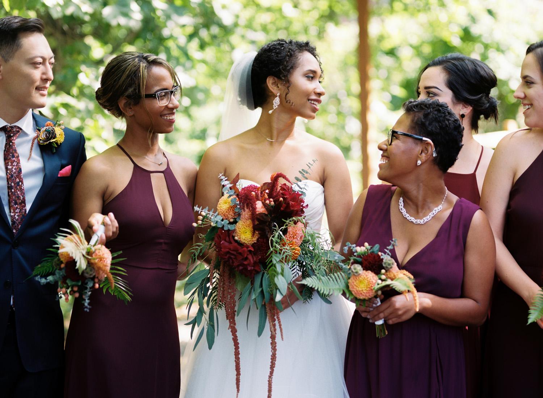 Pickering Barn Issaquah Wedding Photography Bridal Party Portrait Photography.jpg