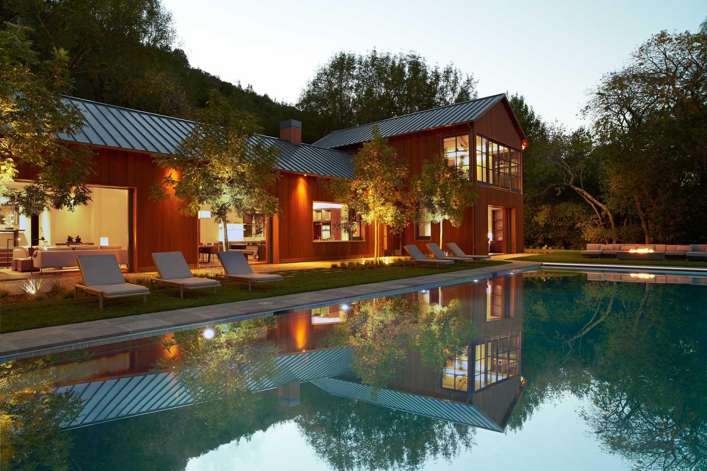 Sonoma—Modern Family Retreat