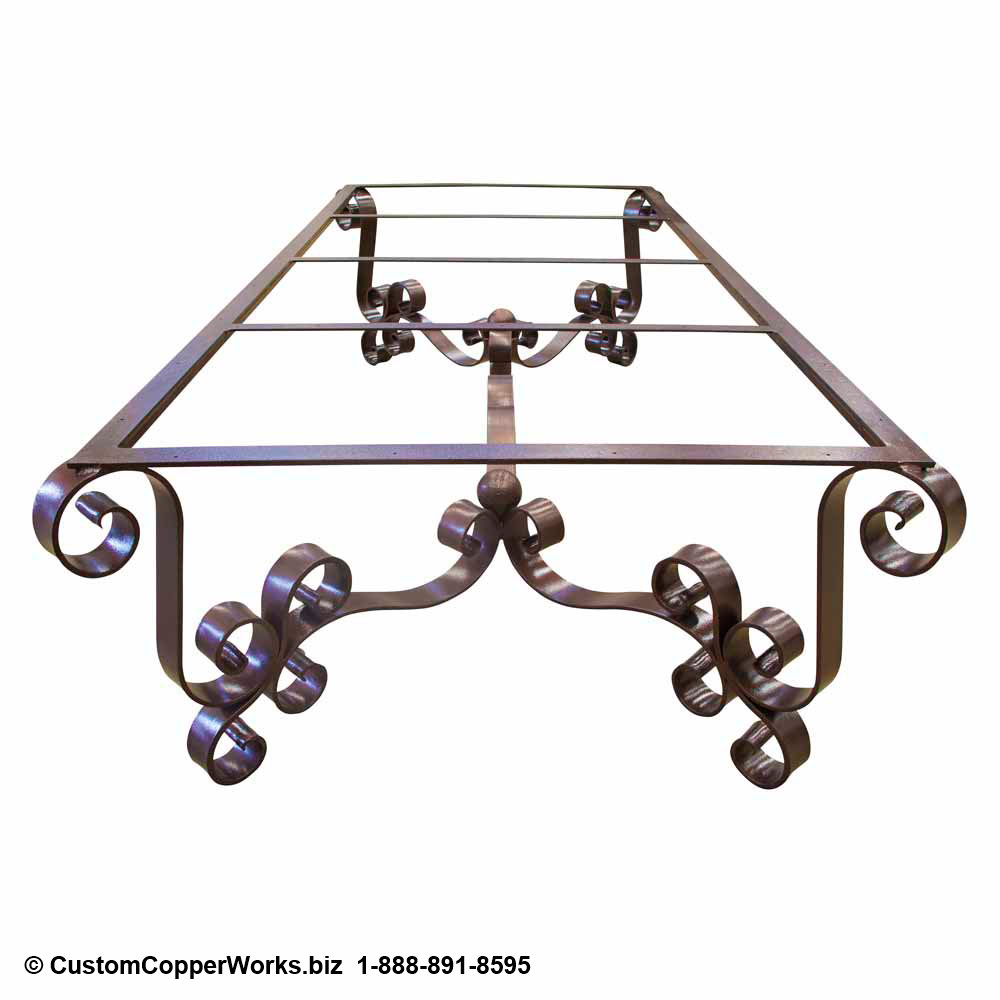 Forged Iron Dining Table Base