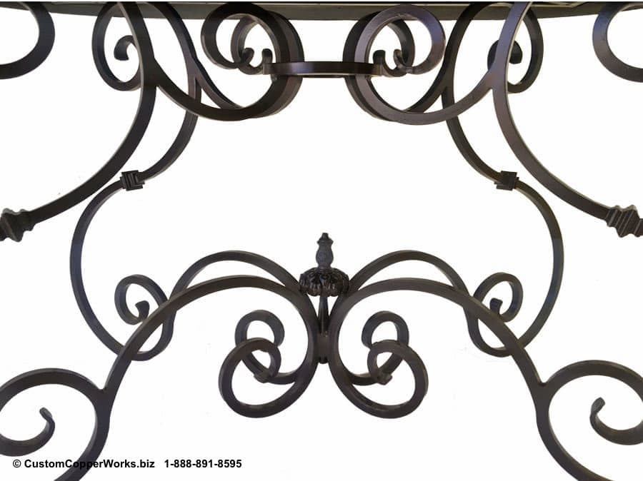 73d-Guadalajara-Oval-copper-dining-table-hacienda-style-forged-iron-table-base-Image.jpg
