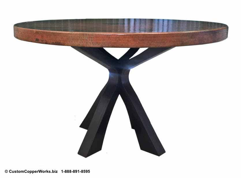 Copper Top Tables | Forged-iron Table Bases -  CCW DESIGN 92