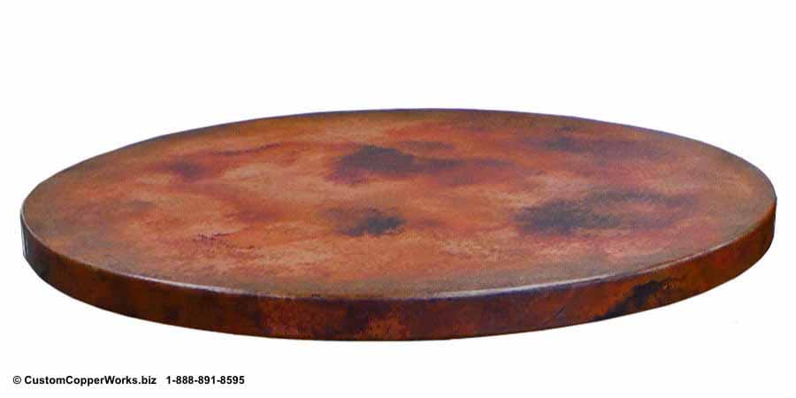 88b-Chiapis-Round-copper-top-dining-table-wood-pedestal-table-base-1.jpg