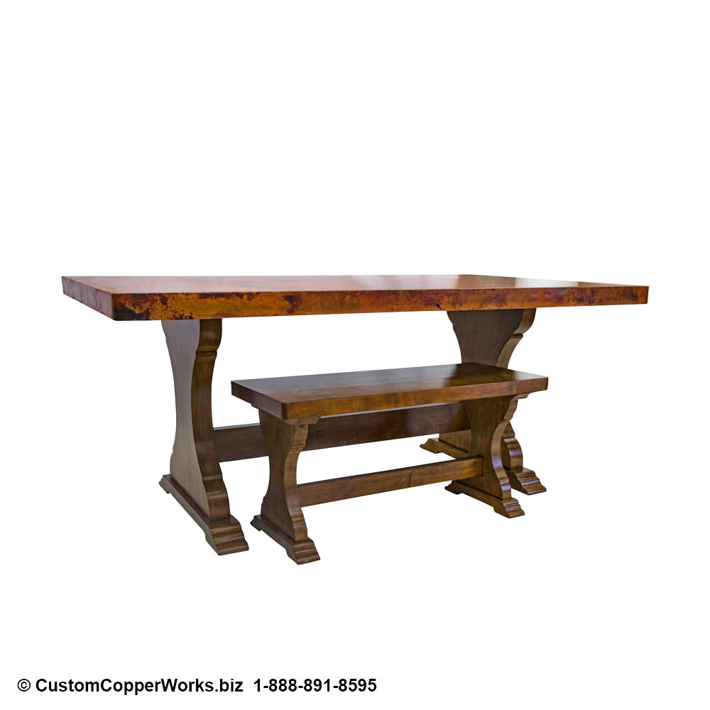 106d-Sayulita-rectangle-copper-table-top-wood-pedestal-table-base-1.jpg