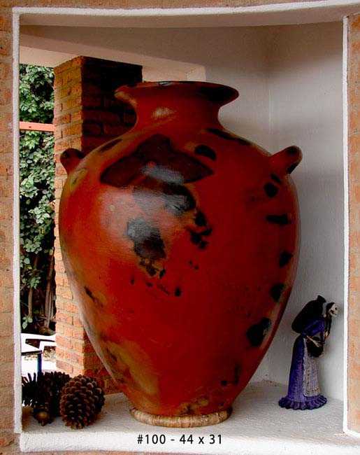 Cocucha Red Big Belly Pot