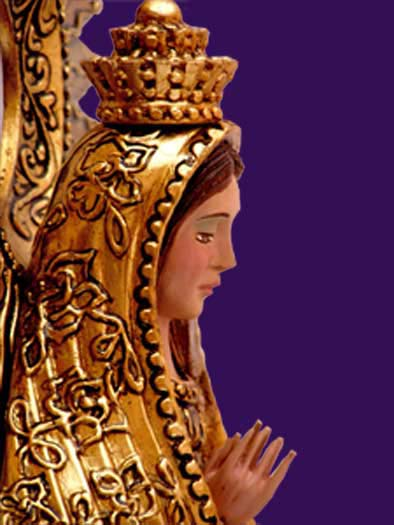 La Puerta del Cielo – Inspired, original and innovative guilded folk art.    MADONNA OF LONLINESS