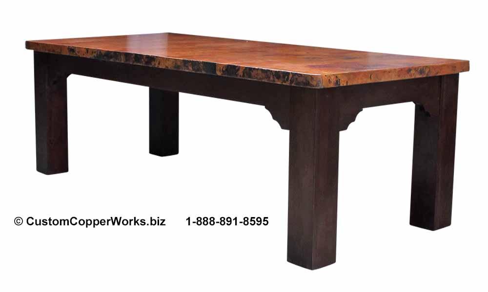 "CCW Design #119 - 96"" x 44"" Farmhouse Table"