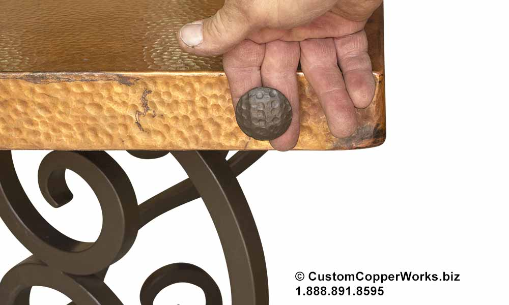 Copy of Matching powder coated concha design option.