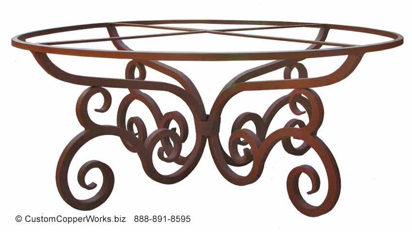 48bb-round-copper-dining-table-santa-fe-style-forged-iron-table-base.jpg