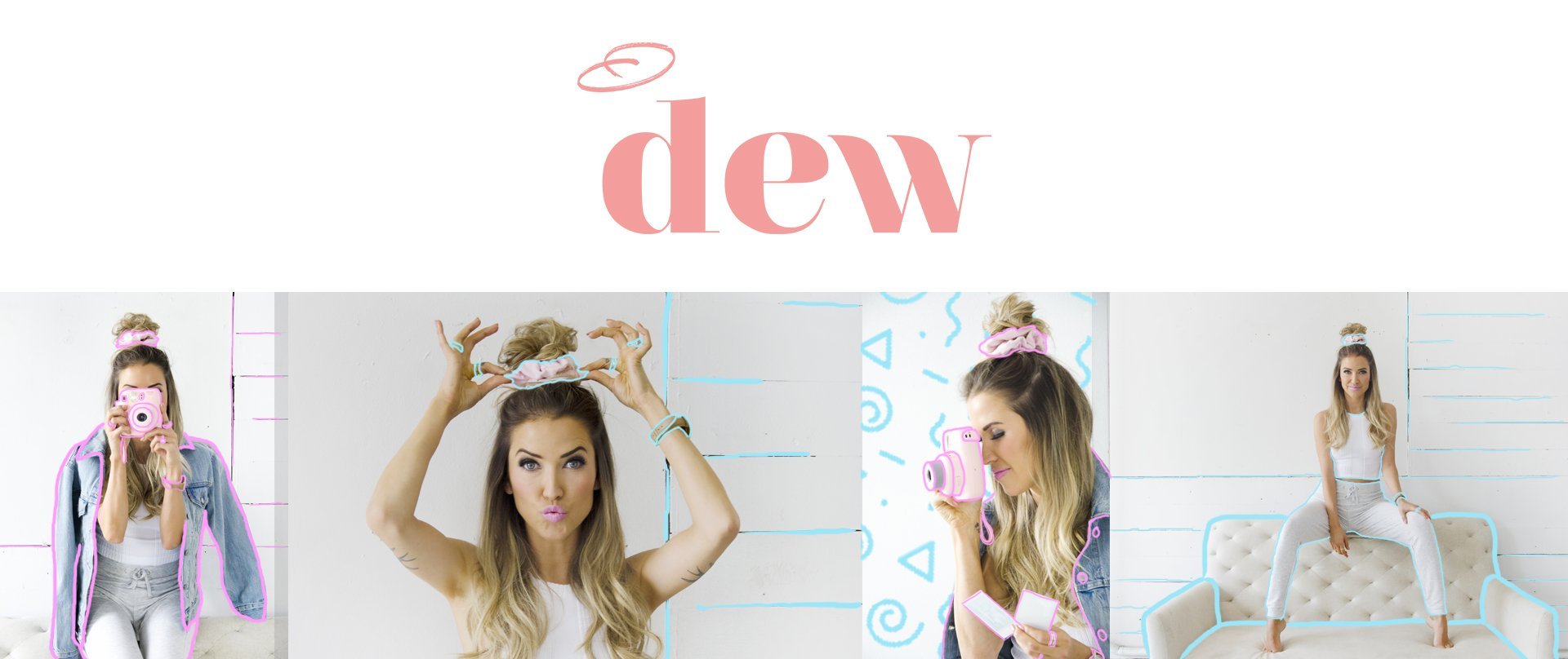 Check out  dew  scruchies from Kaitlyn Bristowe!