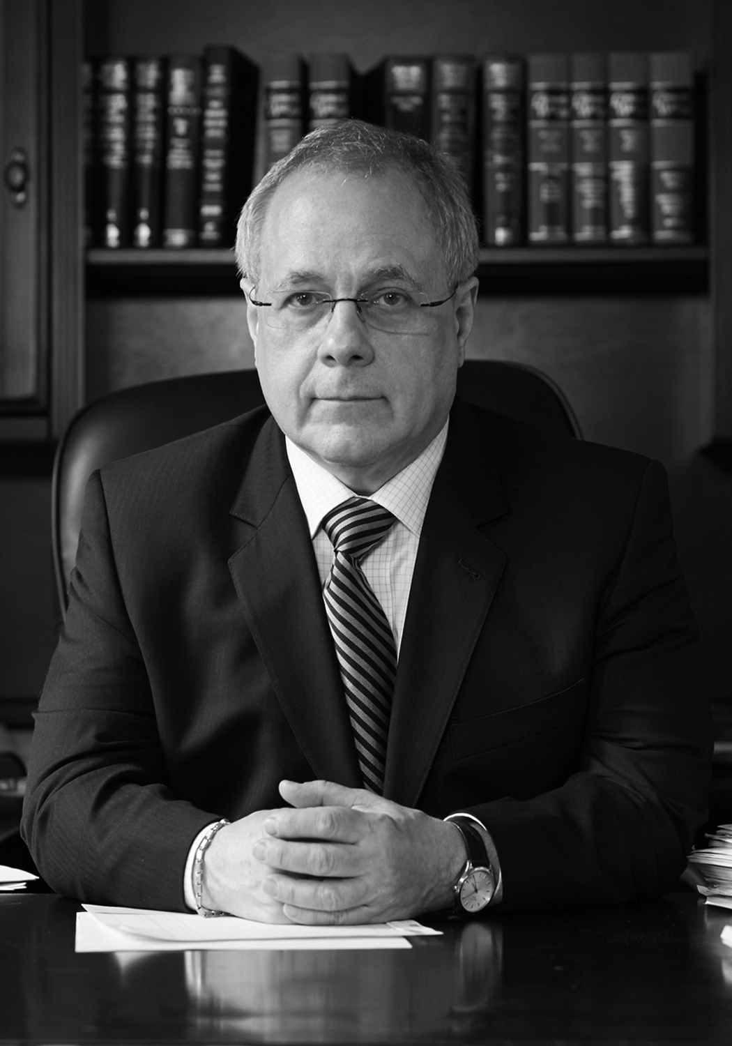 Bob Grimble - Robert Grimble has been practicing law in New York City since 1976.He earned his Bachelor of Science from Massachusetts Institute of Technology (MIT) in 1972, and went on to earn his law degree from Northeastern University in 1975. After serving as clerk to the Honorable Eugene Nardelli, Bob went into private practice in 1981.Bob was a partner at Jennings & Grimble, P.C., for over seven years before starting his own firm, Robert Grimble, P.C. In 2002, Bob teamed up with Robin LoGuidice, to form Grimble & LoGuidice, LLC.Bob believes in giving back to the community. He has worked for many years as a volunteer at Eviction Intervention Services and Project Basement and in 2003, was awarded the prestigious Jane Brown Service award.Bob enjoys playing low brass and saxophone, and he is also an accomplished painter. In his free time he enjoys photography, working with computers, reading science fiction, practicing Pilates, and scuba diving.
