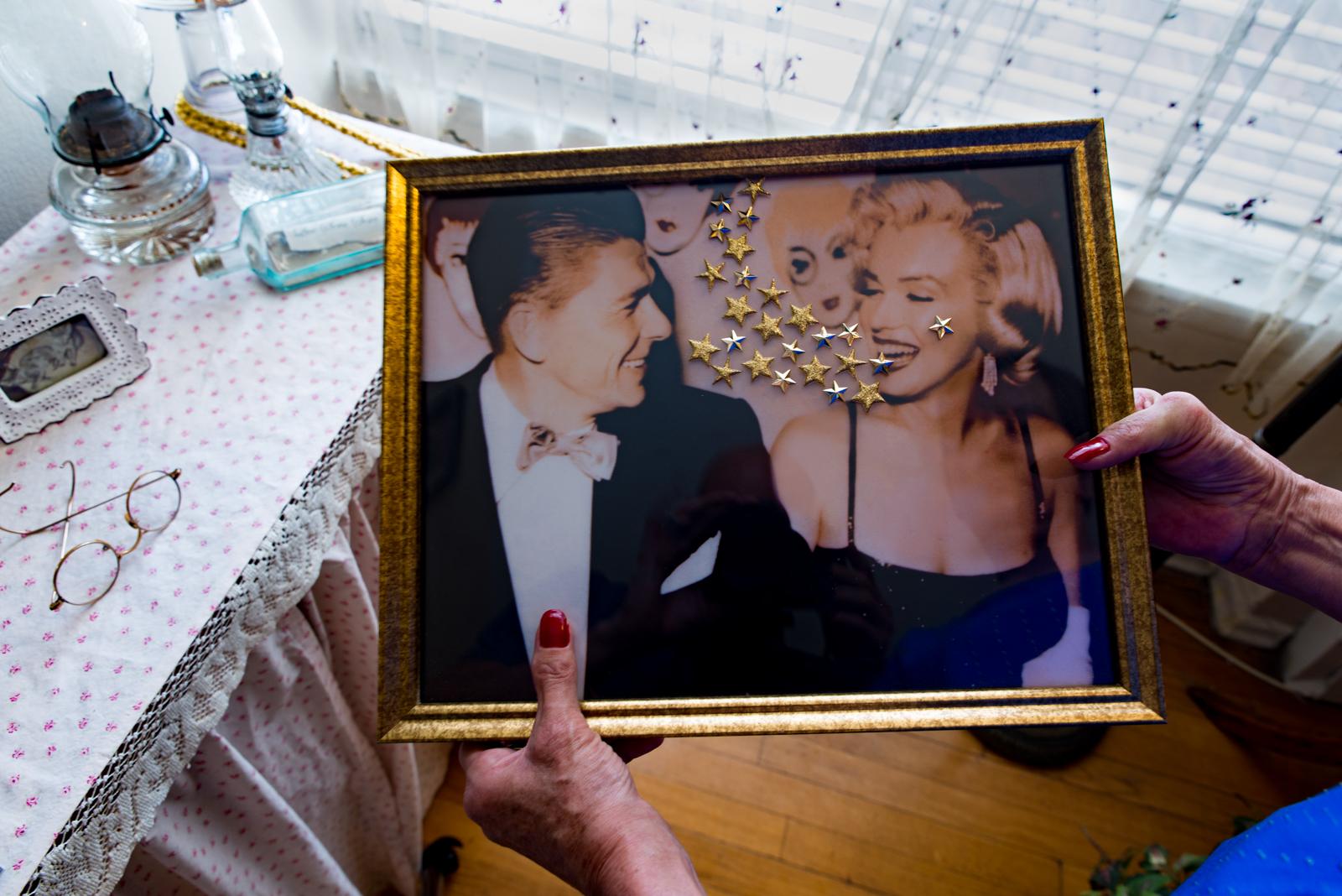 Reagan and Marilyn