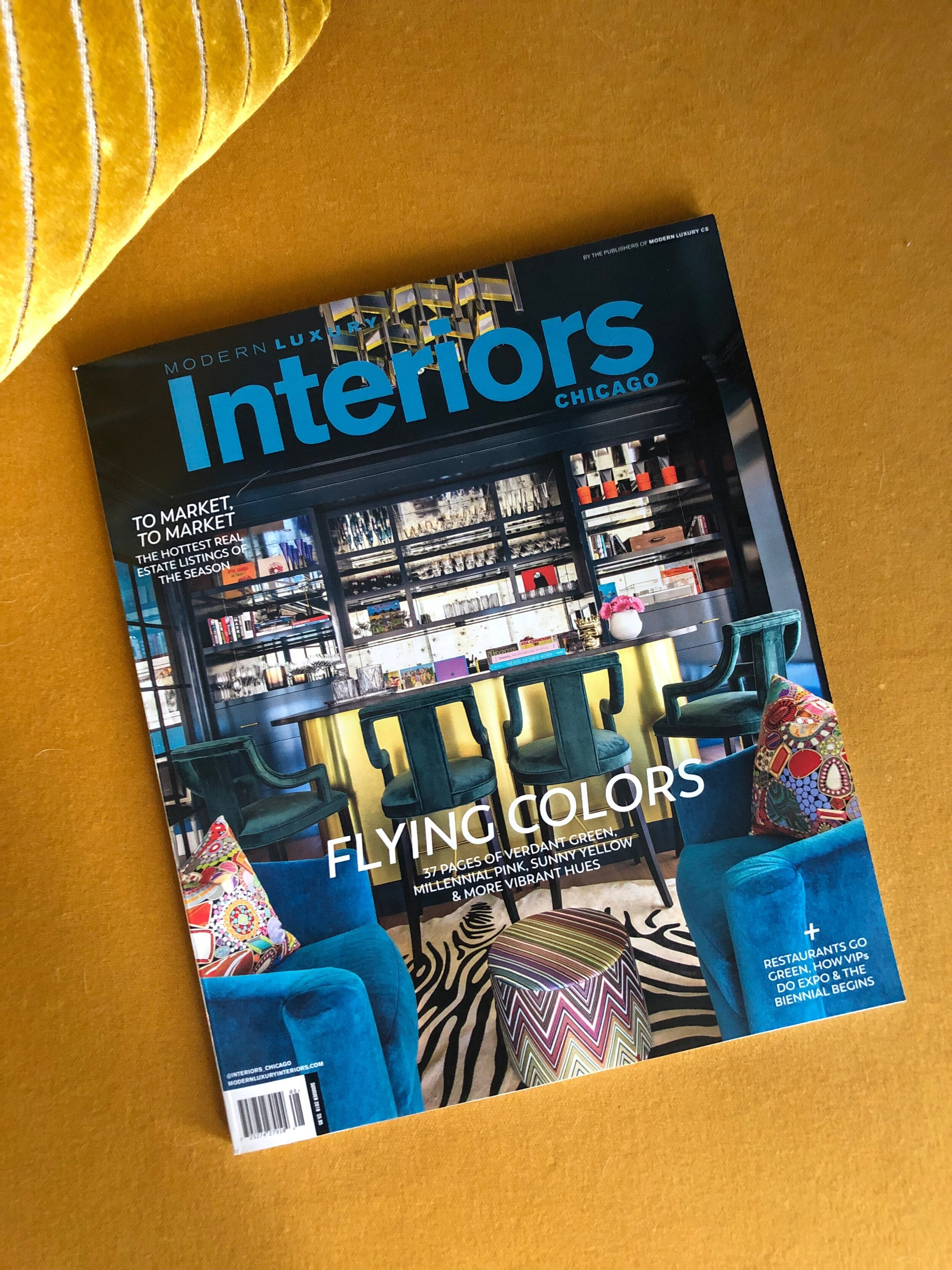 August 2019 Cover with Skin Interior Design